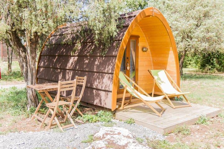 Cabane Pod à deux pas des Gorges de l'Ardèche