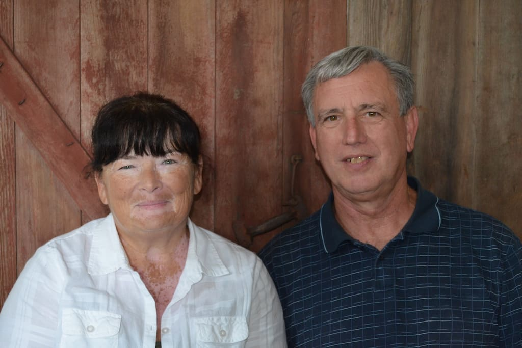 Connie and Dan Boyer, Owners of Grand Pause Farms