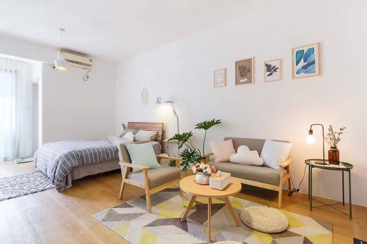 厦门中山路 简欧风格 度假必选舒适一居室 一月·初心 - Xiamen - Apartamento