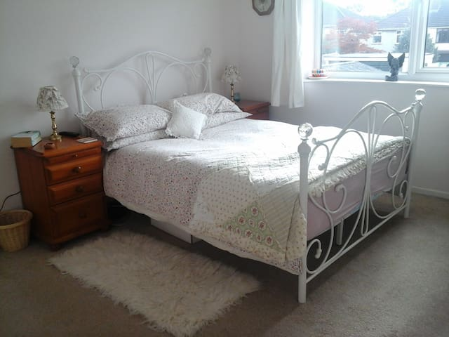 Lovely spacious, quiet room, comfy double bed - Bristol - Talo
