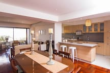 Cocina comedor y sala