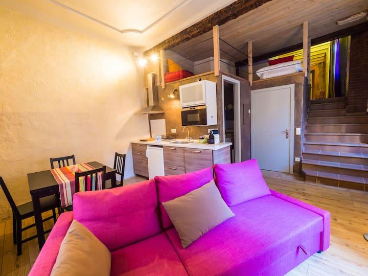 Apartament Turístic amb encant al centre històric