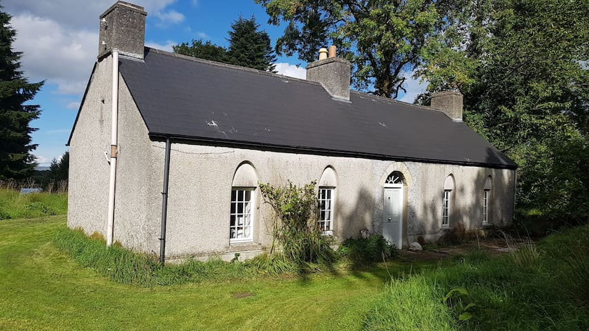 150 year old cottage on Lough Key