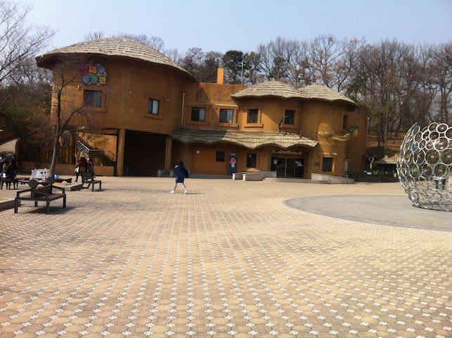 자연이살아숨쉬는 하우스 - Namyangju-si - Ev