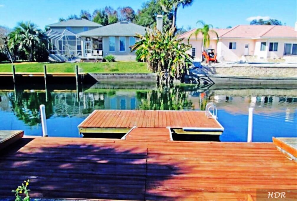 Waterfront 5/4 Remodeled Pool Home Crystal River - Houses ...