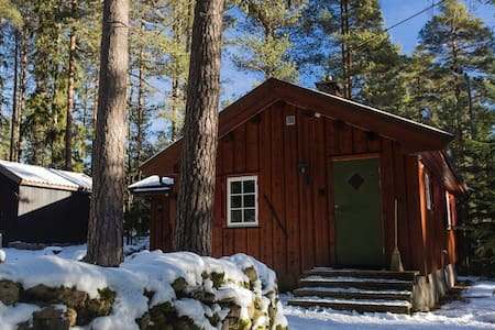 Charming cabin in Nordmarka - Harestua  - 小木屋