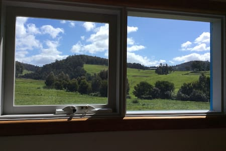 Sunny db bedroom with views space & privacy - Cygnet - Flat