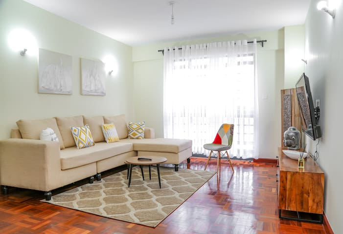 Fine living Yellow-Elegant 1bd in Westlands