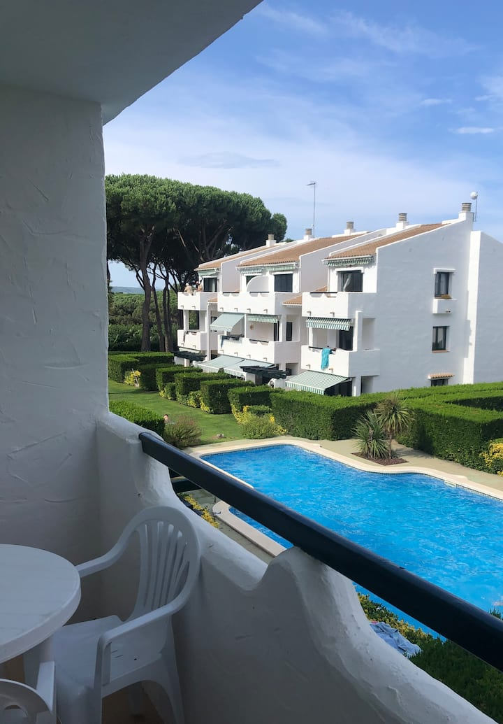 Apartment with pool in Playa de Pals