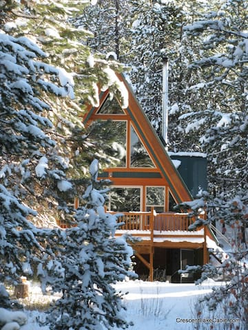 Pet-Friendly, Secluded Cabin on Crescent Creek - Crescent - Srub
