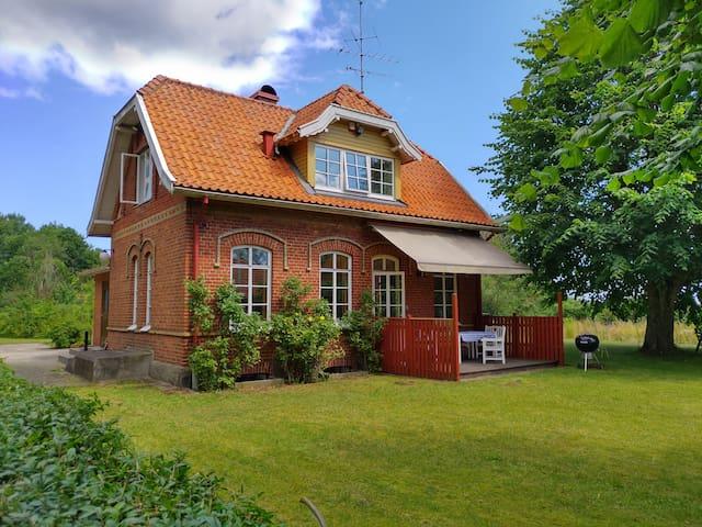 Stationshuset Maglehem - Österlen, hav & natur