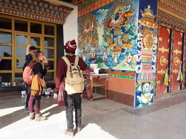 A peek into Tibetan culture and Buddhism