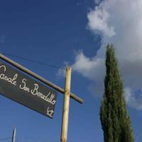 Agriturismo Casale San Benedetto (4 pp.) - Cerveteri - Apartment