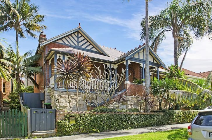 Bower St Paradise, 2min to Manly and Shelley Beach - Manly - Haus