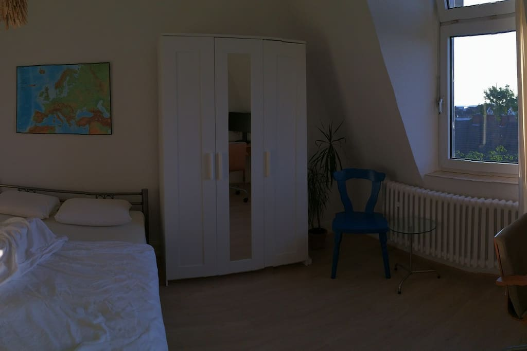 Panorama of Private Room at Sunset