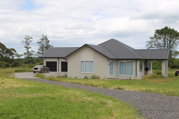 Tranquil and luxurious spacious bedrooms house - Pukekohe - Ev