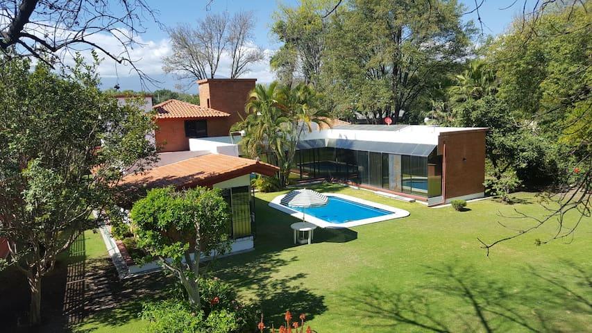 Casa en Atlixco con Alberca
