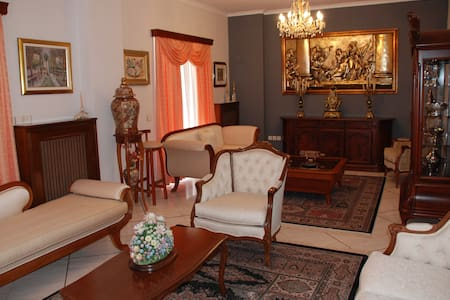 """My """"Museum"""" Apartment(Comfort&Quiet) - Athens view - Petroupoli - Apartmen"""