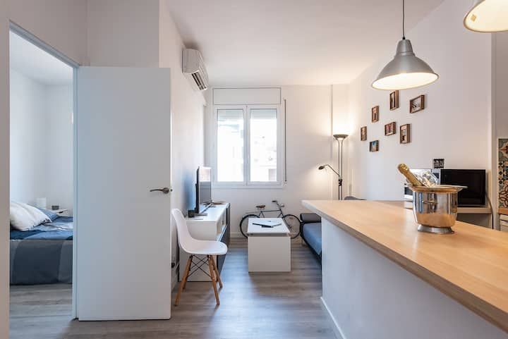 Cozy and refurnished flat to enjoy BCN safely