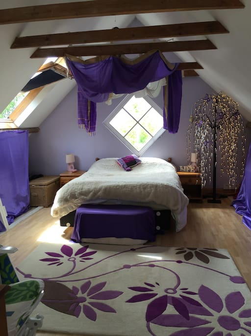 attic bedroom double room