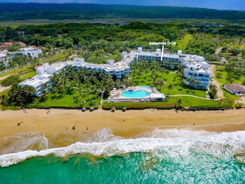Luxurious Oceanfront Beach Condo in Cabarete, DR