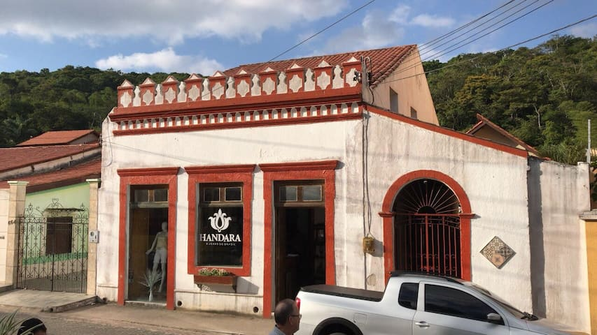 Casa Centenária no Centro de Guaramiranga