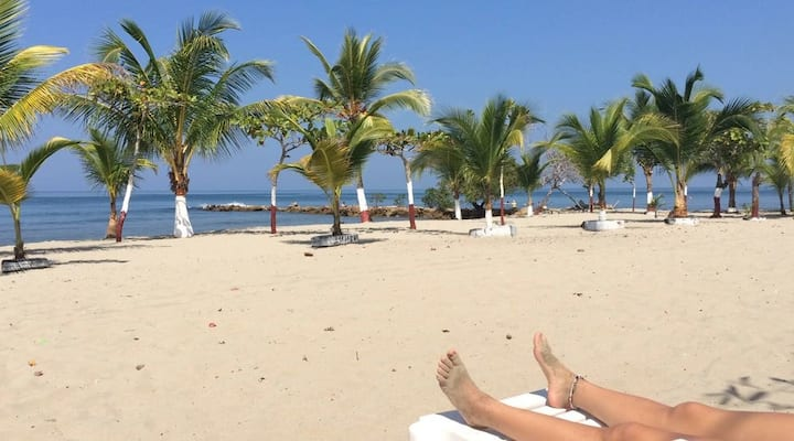 Cabaña Coveñas / Tolu, piscina, la mejor playa!