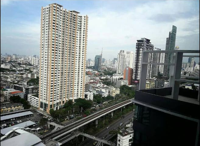 Conveniently located, Private room, Relax. - Bangkok - Apartment