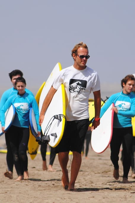 Red Star Surf squad ready for action