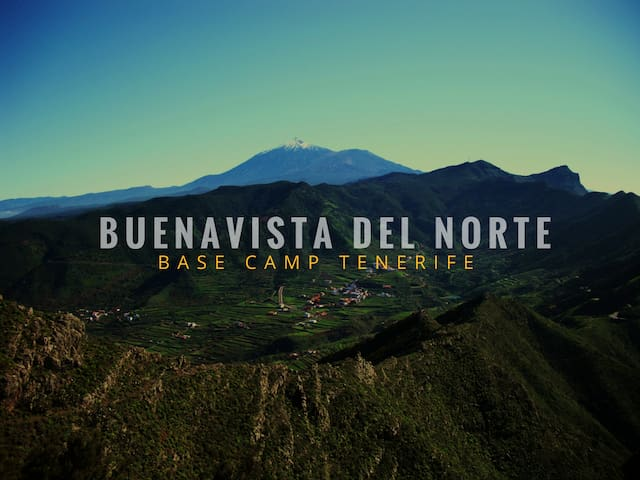 (BN) TENT IN THE MOUNTAIN - Buenavista del Norte - Zelt
