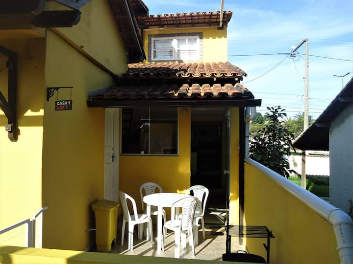 Vila do Sossego, Casa 01 (Loft).
