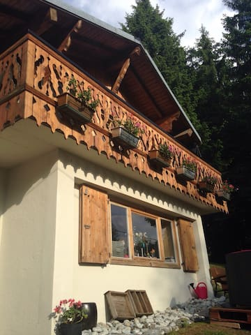 *charmant petit chalet* 4couchages - Les Gets - Apartment