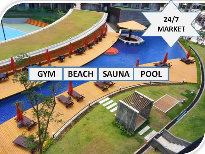 ★ReplaySuite/OnTheBeach/Pool/Gym/JungleView★