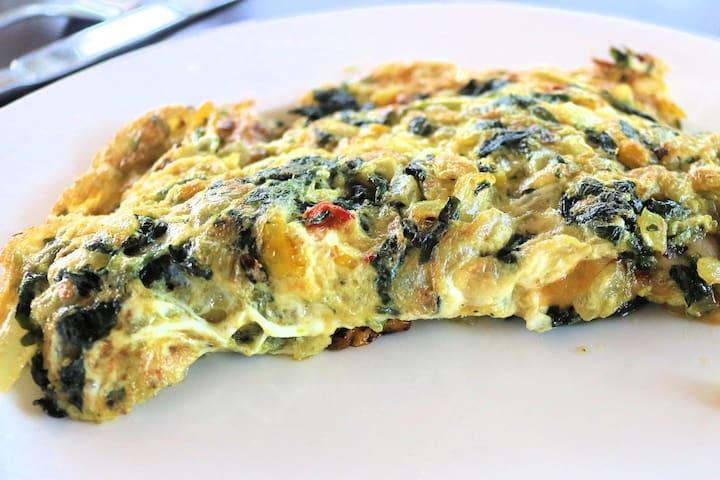 Homemade omelet anyone?