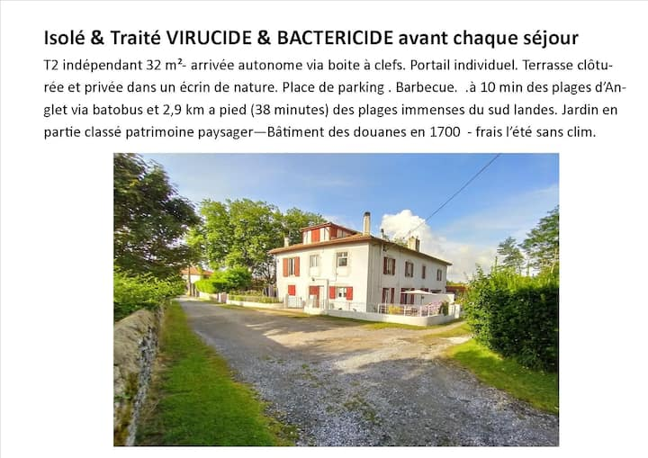 T2  traité VIRUCIDE BACTERICIDE air/meuble/literie