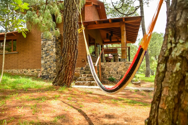Cabaña King Suite Monterra con vista a Tapalpa