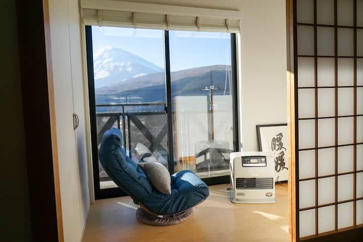 【NEW】富士山view民泊暖暖(民宿暖暖)!!!天恵天然温泉、須走富士山登山口