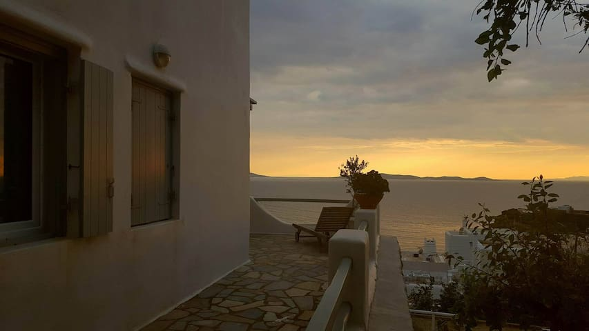 Amazing view room for 4 - Άγιος Στέφανος - Apartment
