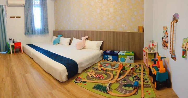 Mi Casa-Family room, near Taitung train station