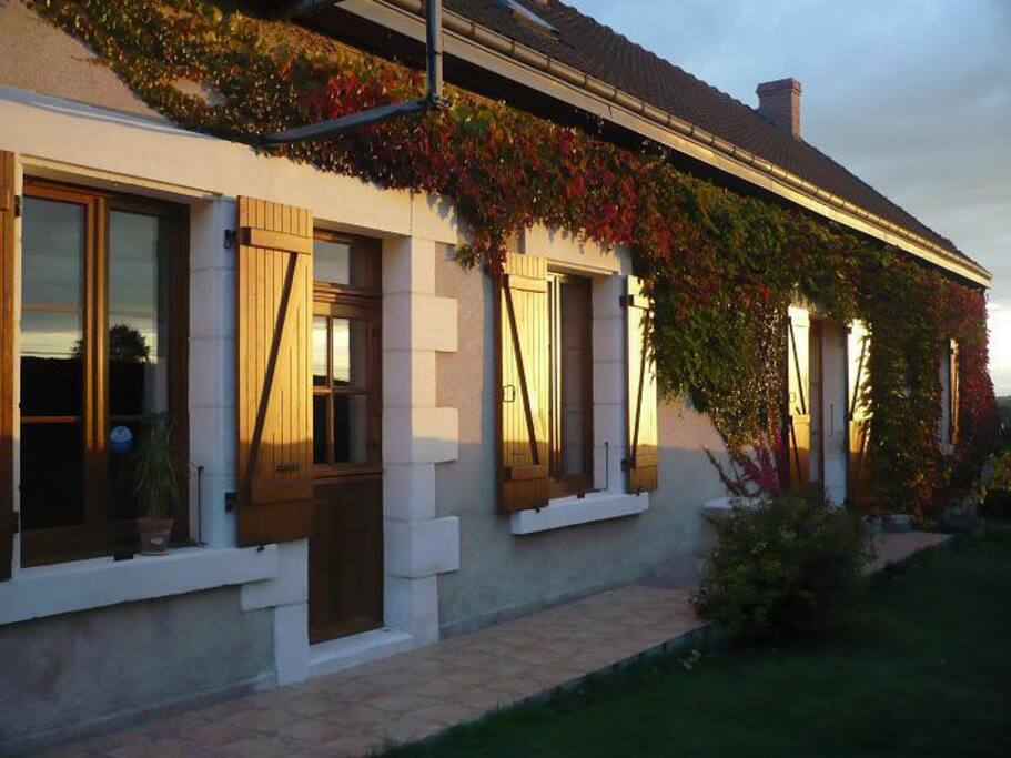 Chambre nature table d 39 h te pernottamento e colazione - Chambre d hote chatillon sur chalaronne ...