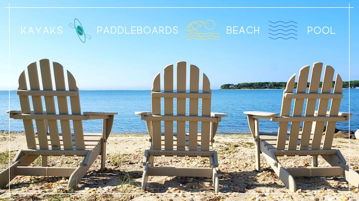 2BR, Mins to Beaches/Wineries, Kayaks Paddleboards