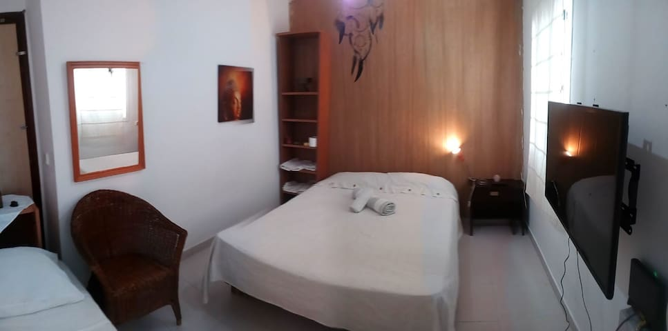 Double room with best location in Ibiza Town