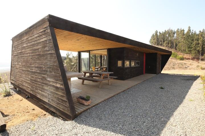 Casa refugio en Matanzas, Chile