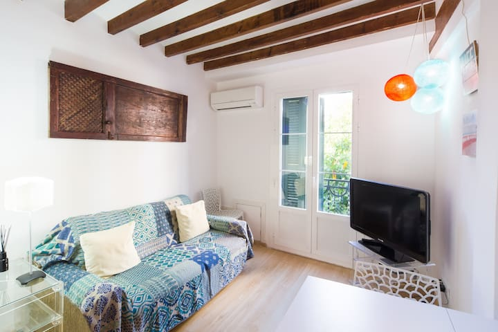 Modern vintage apartment in historic centre