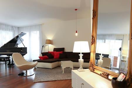 Magnifique appartement au centre-ville de Sion - Sion - Leilighet