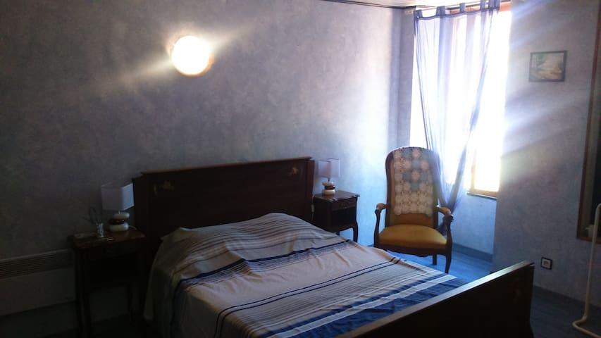 Haras du Frêne chambre Bleu - Blaye