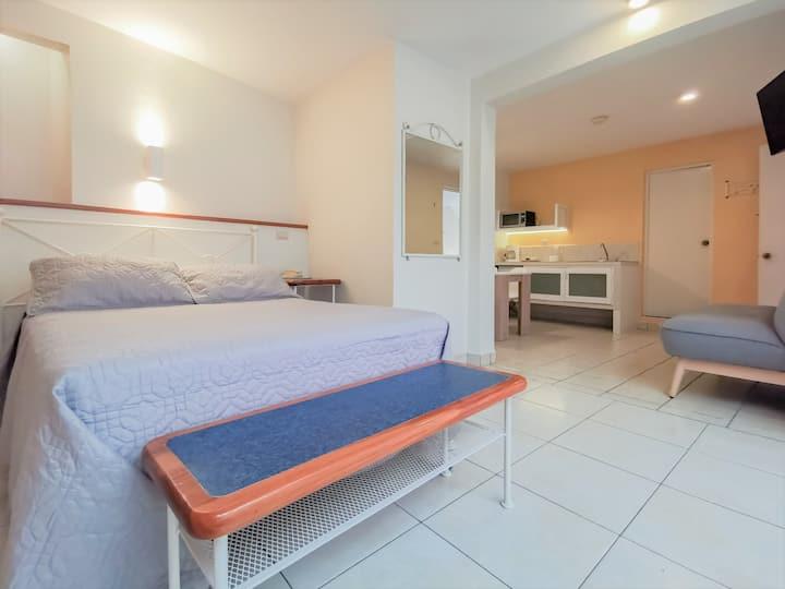 Suite  tipo mini dpto. en centro de Xalapa