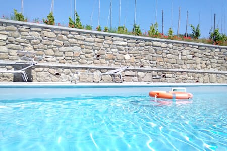 Cottage with private pool and free WI-FI - Spigno Monferrato