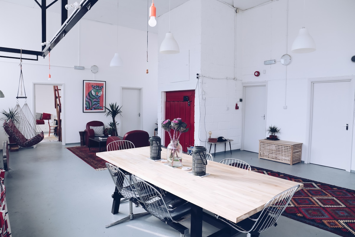 NYC-Style Loft with Four Duplex Apartments - Lofts for Rent in ...