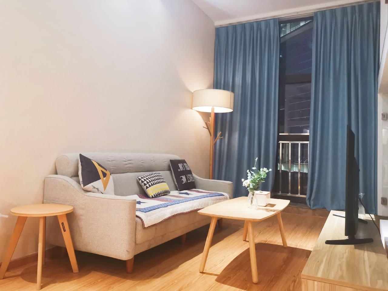 房屋内最新实景更新,新增更多品质软装。
